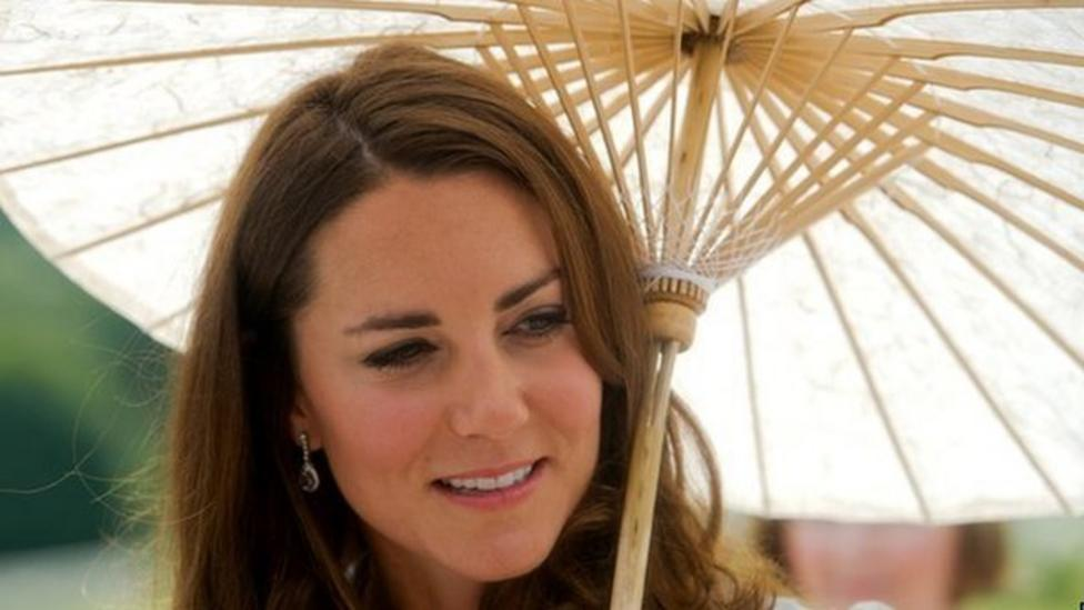 Kate makes first speech abroad