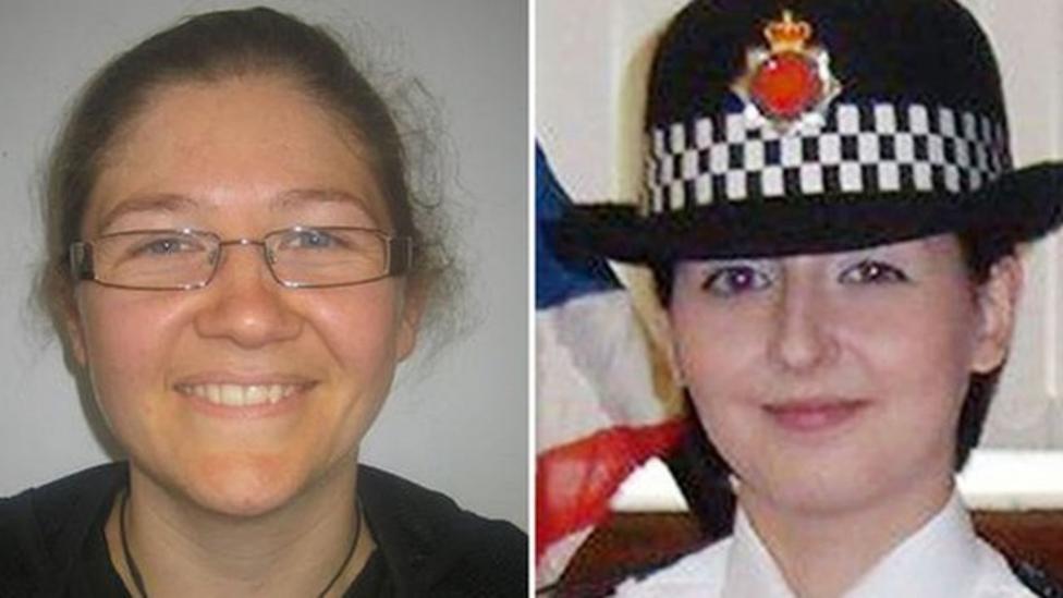 Tributes paid to two policewomen