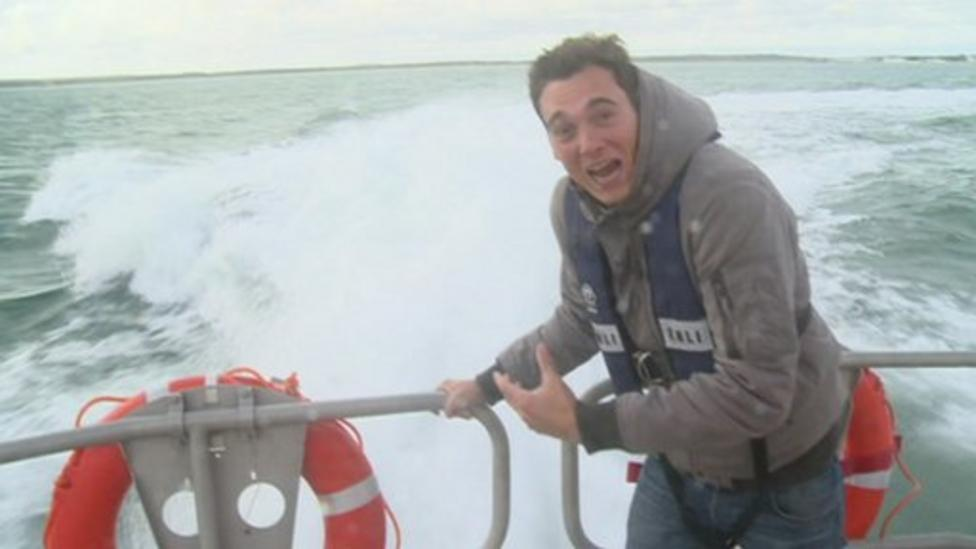 Fastest lifeboat in the world