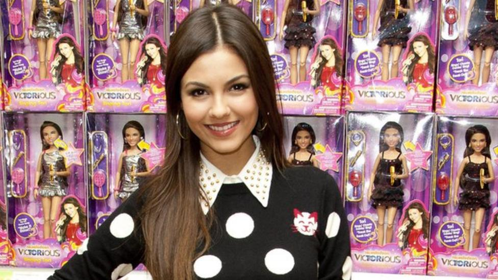 Victoria Justice chats to Newsround