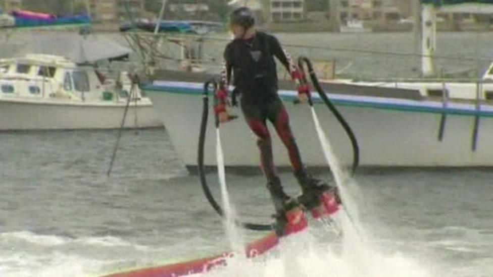 The latest watersports craze?