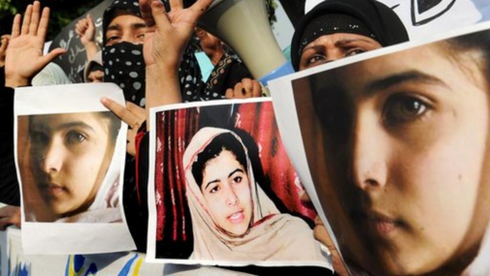 Pakistan schoolgirl shot