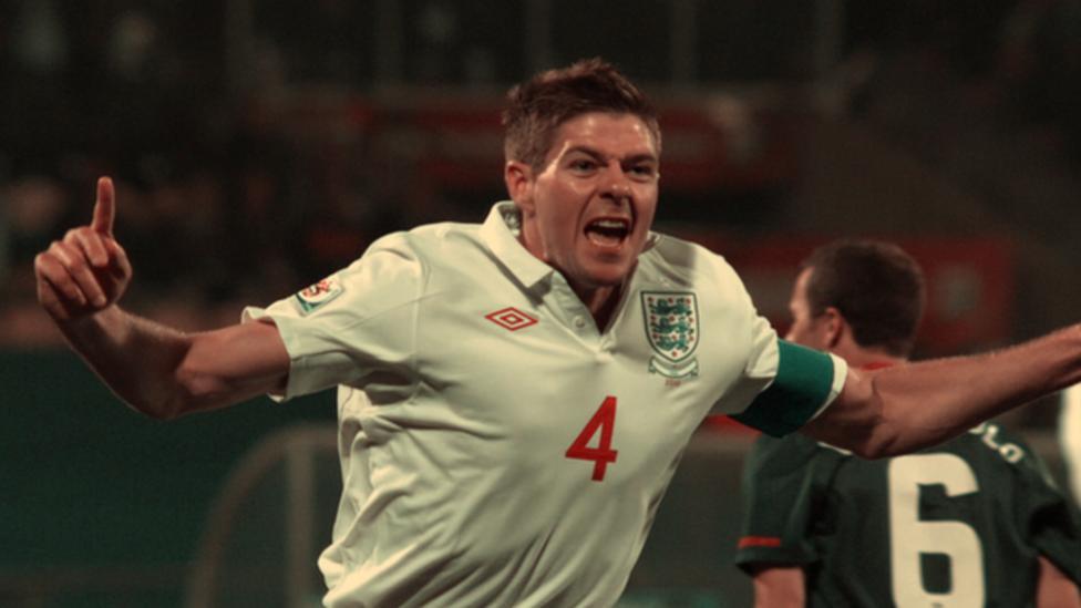 Gerrard's England career highlights