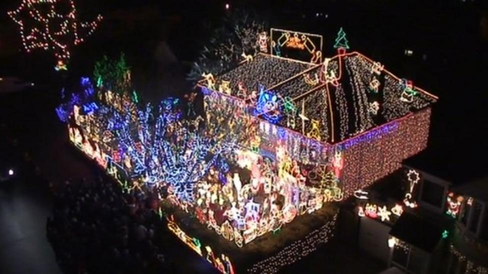 Electrician's lights extravaganza