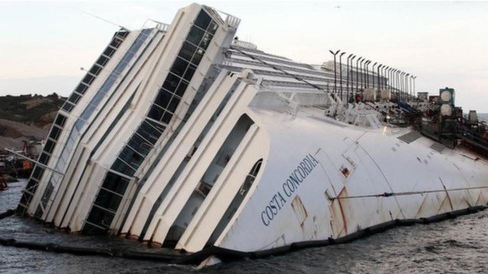 Costa Concordia out by September