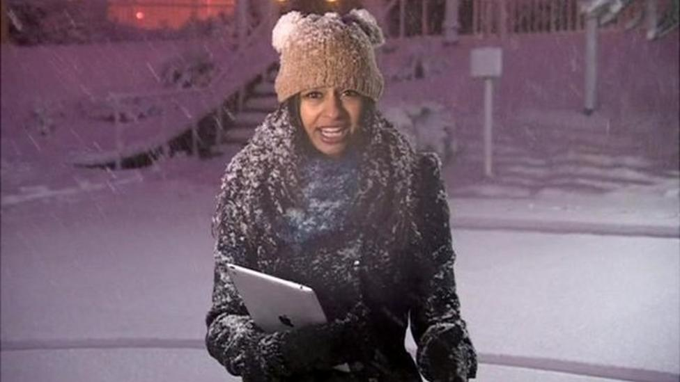 Nel's snow report in south Wales