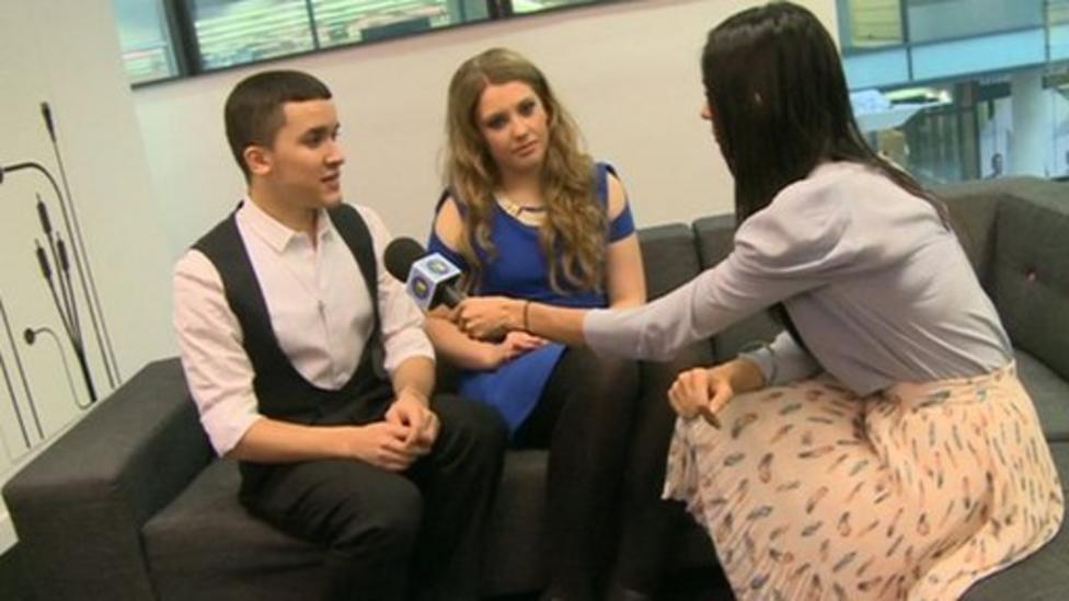 Video: NR meets X Factor tour stars