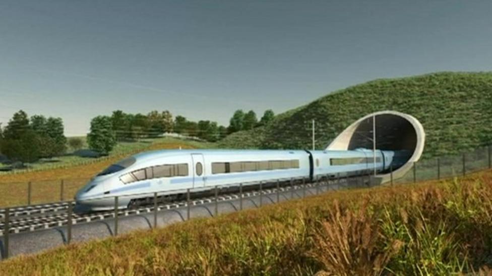HS2 rail network plans unveiled