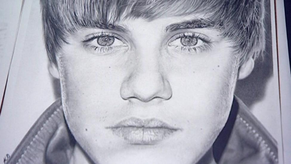 Amazing pencil drawn portraits