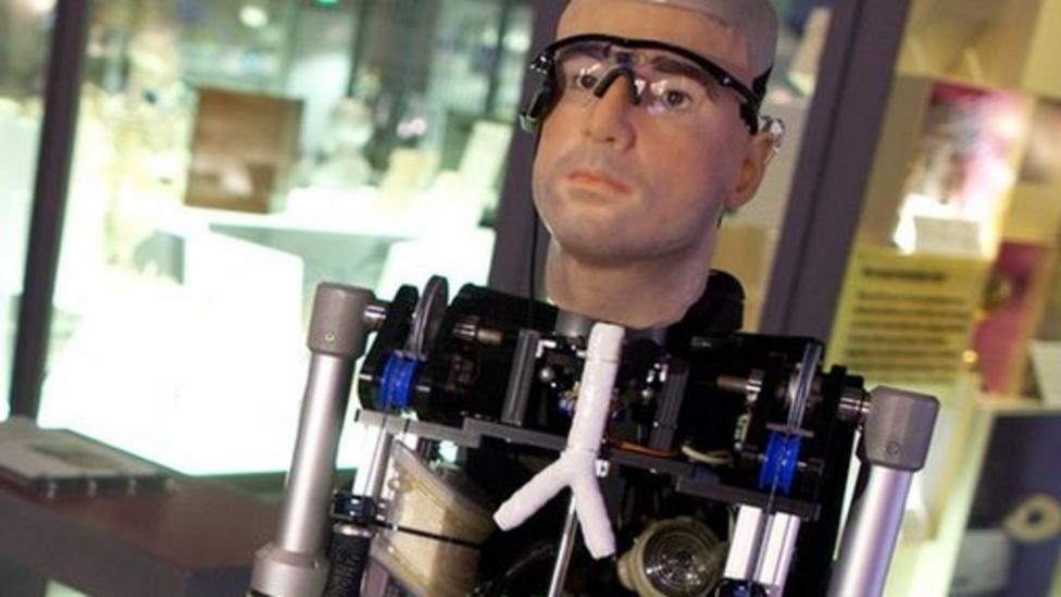 Robot experts create bionic man