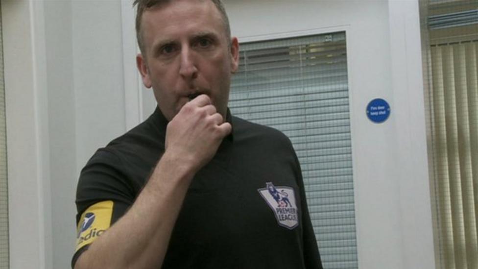 Referees teach good school behaviour
