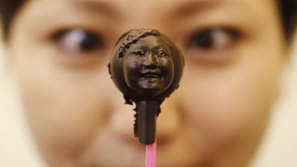 Chocolate faces!