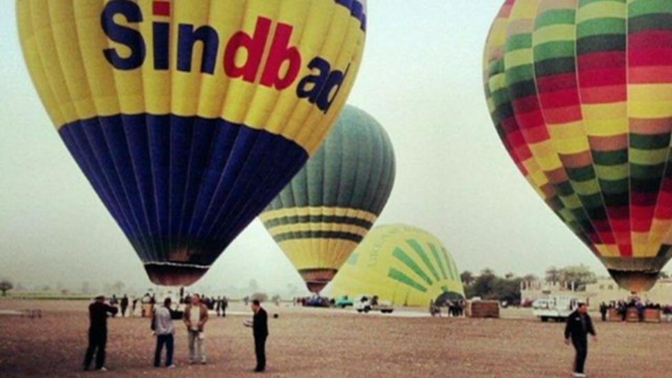 Hayley reports on the balloon crash