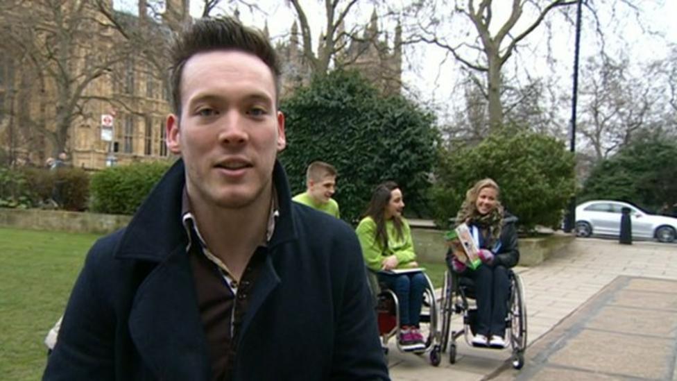 Paralympic ambassadors go to No. 10