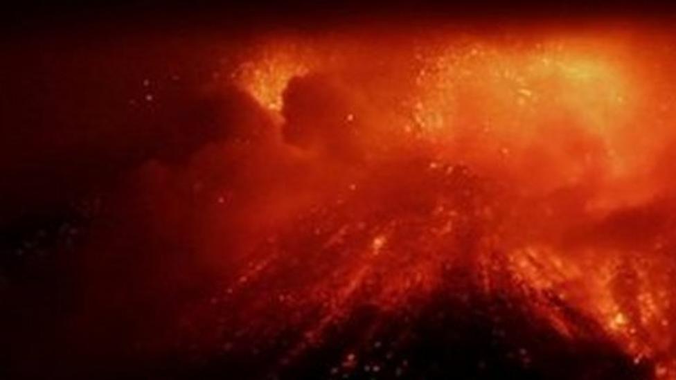 Watch Etna erupt!