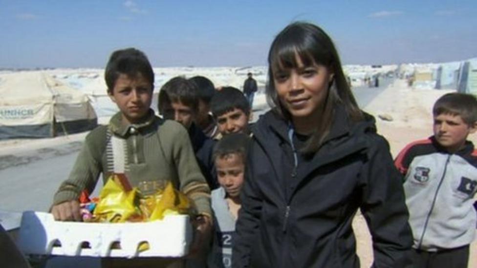 Leah reports from Zaatari refugee camp
