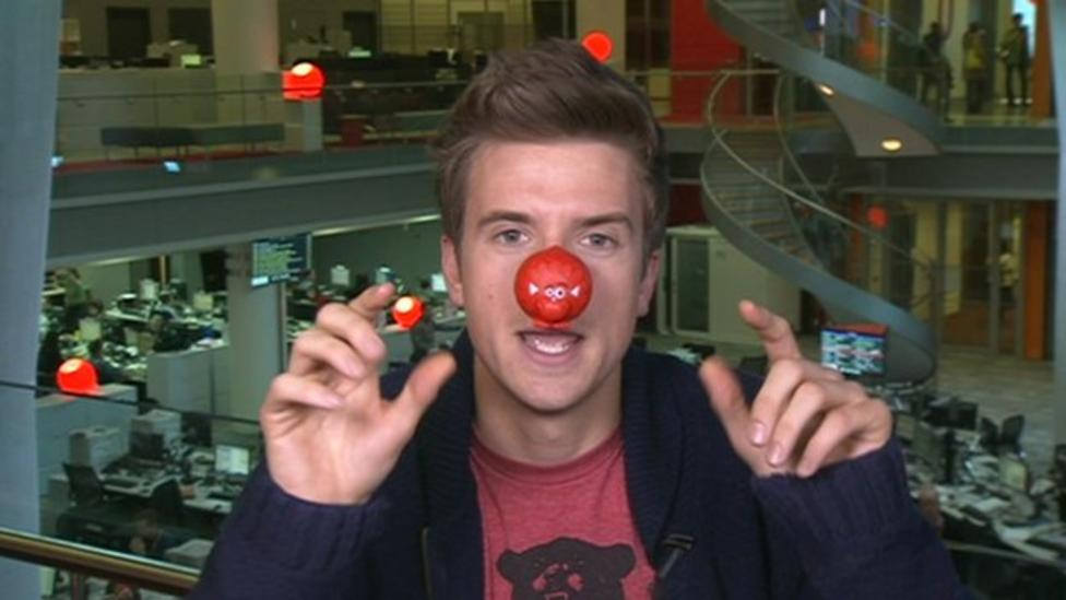 Greg James talks about Comic Relief...