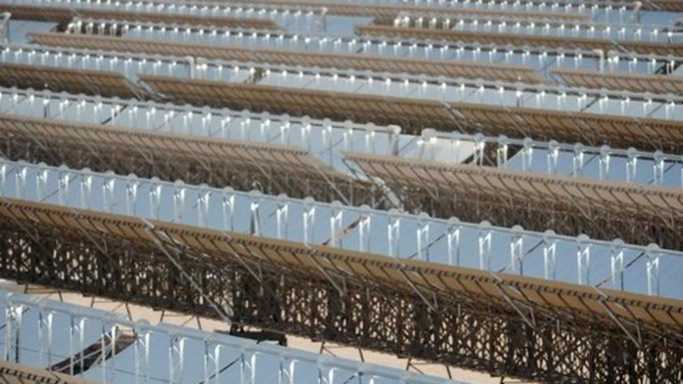 World's largest solar power plant opens