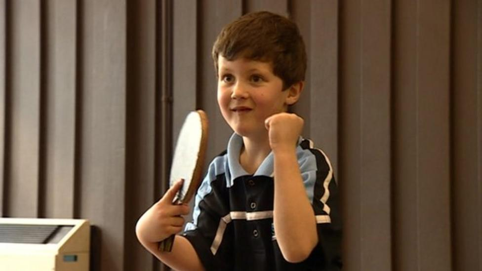 Connor is a sporting sensation!