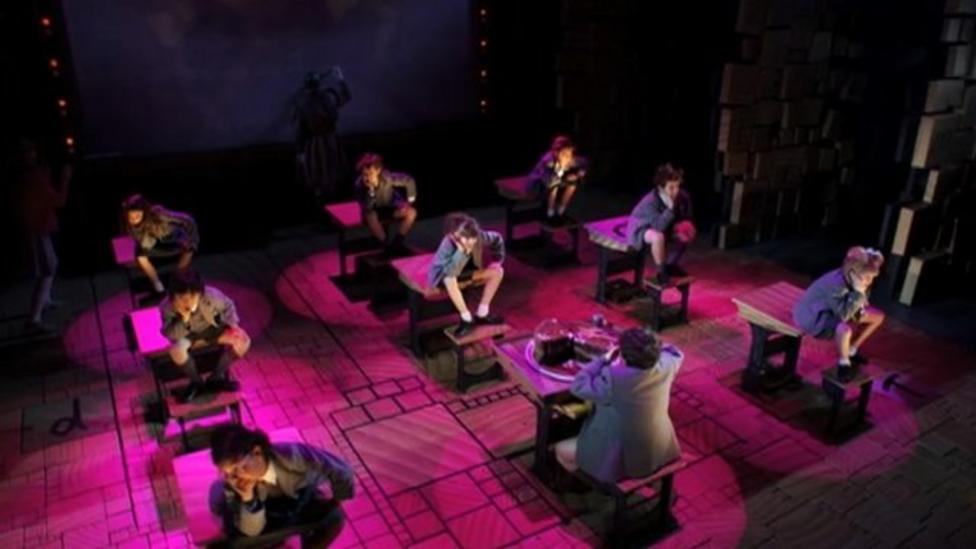 Matilda musical wows US critics