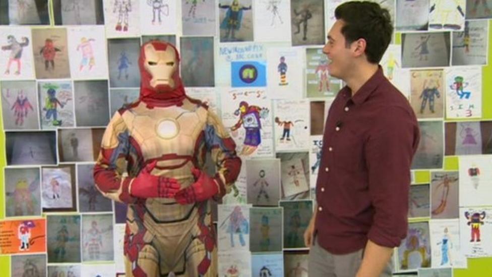 Check out your super suit designs...