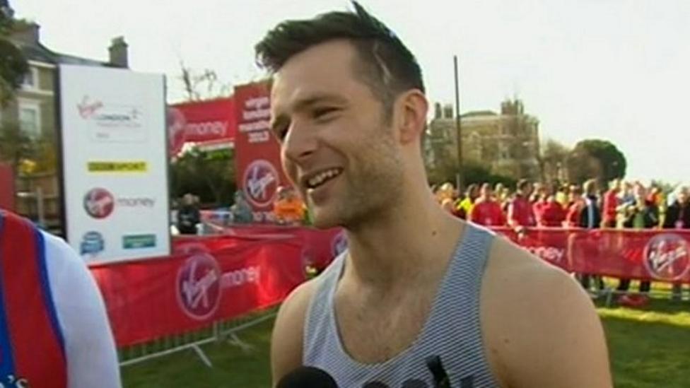 Harry Judd on London Marathon