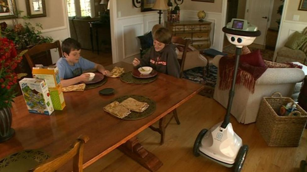 Boy 'lived as robot' for two months