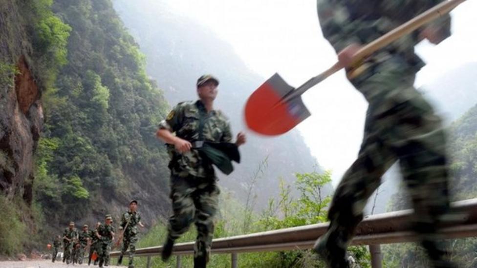 China earthquake rescue continues