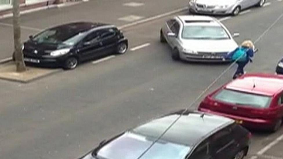 30 minute parking attempt is web hit