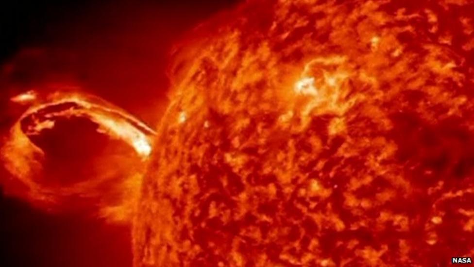 Video: Explosion on the sun