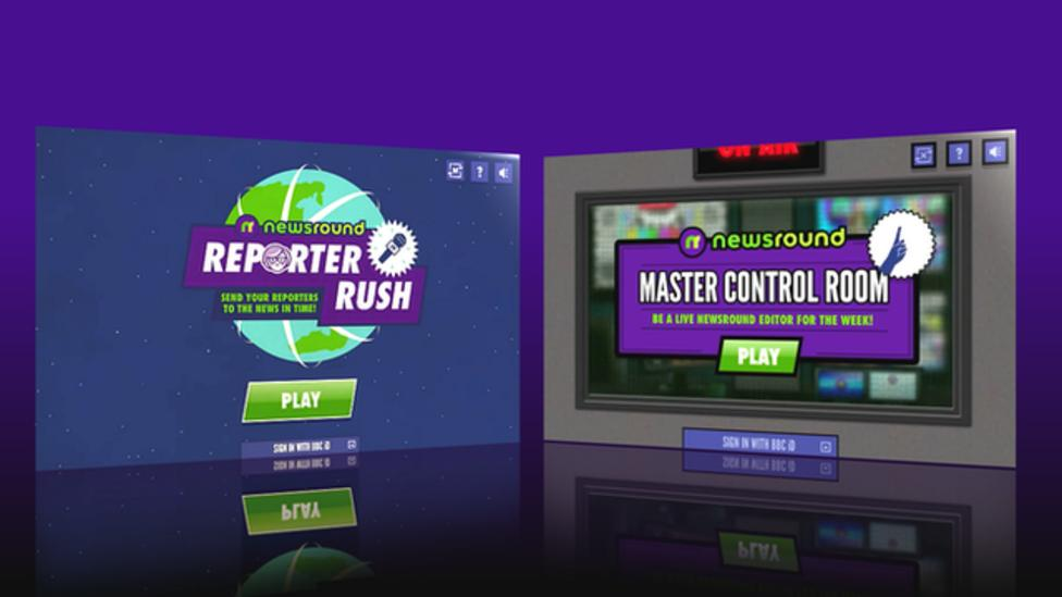All about Newsround's new games