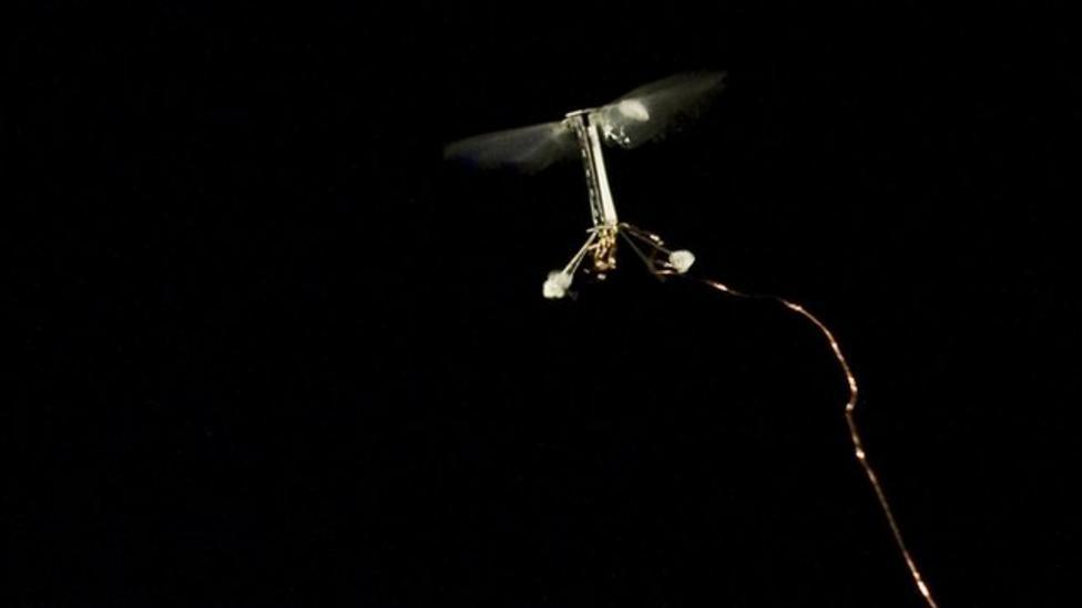 Smallest ever flying robot revealed