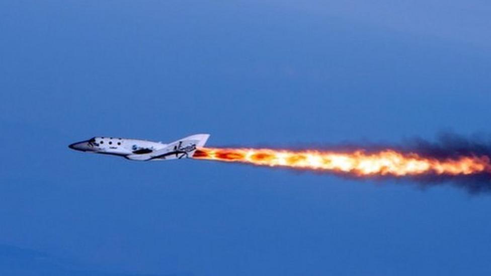 Video: Watch space plane's first flight