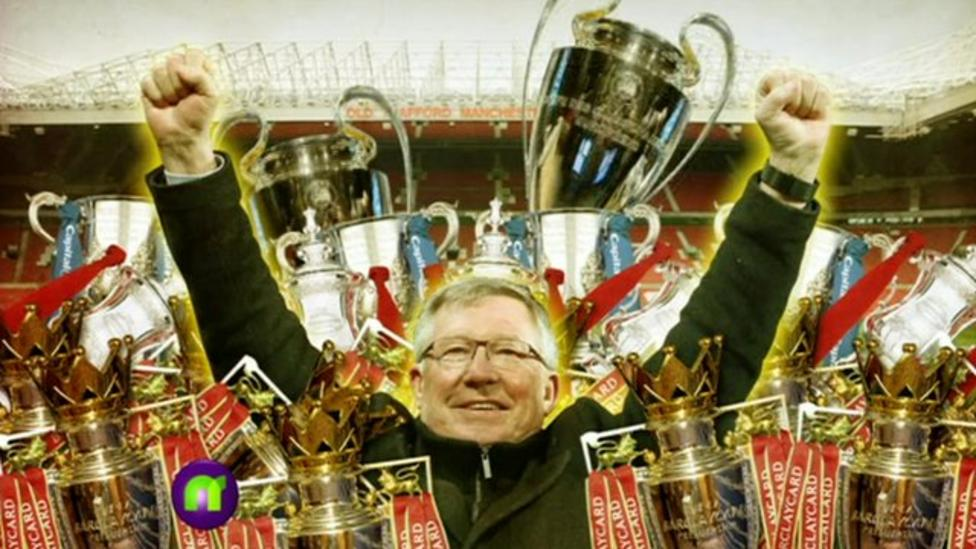 Ferguson's 26 years at Man United
