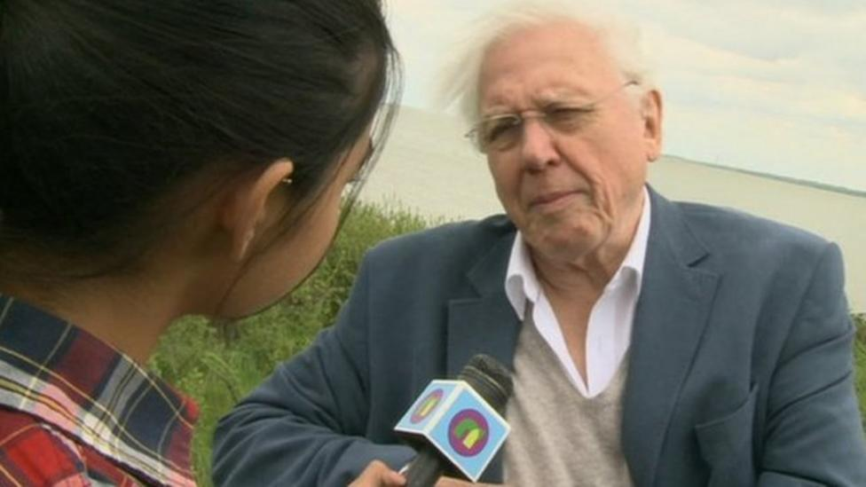 Attenborough opens wildlife park