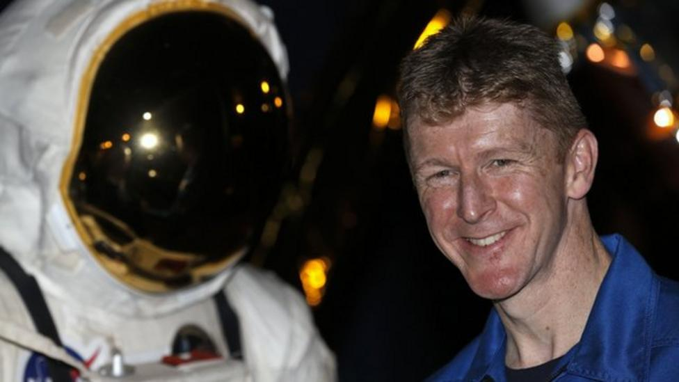 Tim Peake talks to Nel about space