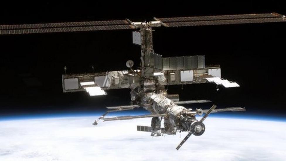 British astronaut in space mission