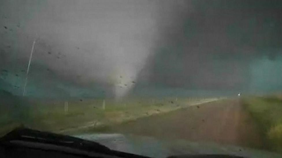 New tornadoes hit Oklahoma