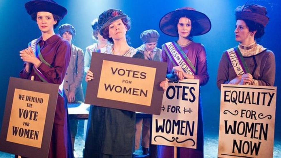 Who were the suffragettes?