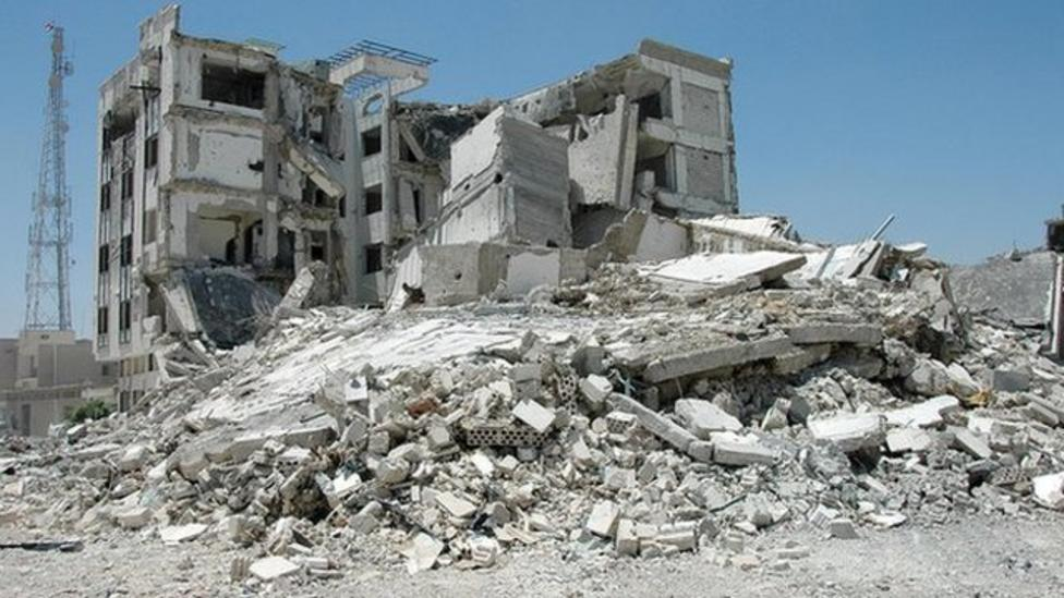 Ricky reports on war-torn Qusair