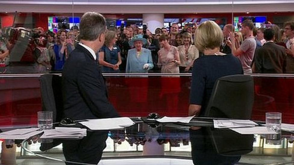 The Queen opens new BBC HQ