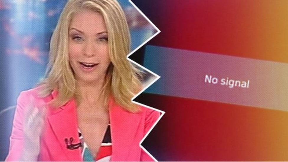 Video: Greek public TV closed to save cash