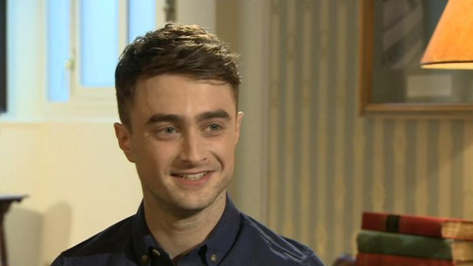 Daniel Radcliffe talks about Harry Potter
