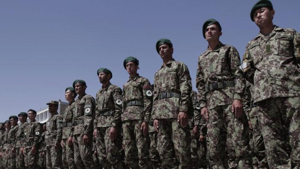 Video: Afghan troops take back control