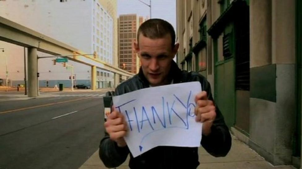 Doctor Who's video message for fans