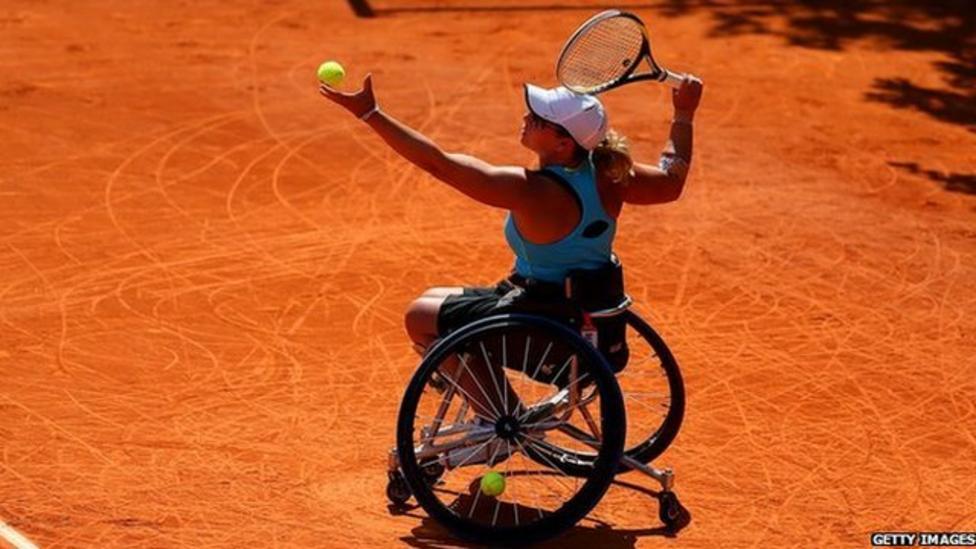 Meet the wheelchair tennis stars