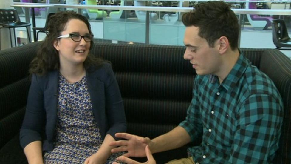 The Voice's Andrea Begley chats to Newsround