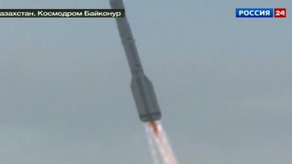 Unmanned Russian rocket crashes