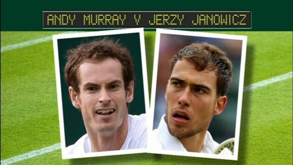Murray versus Janowicz comparison