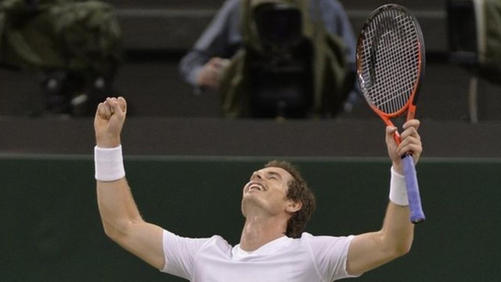 Murray Wimbledon final prep